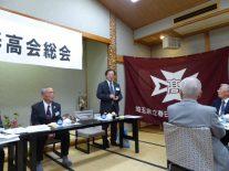 開智未来中学高等学校長 加藤友信さん挨拶