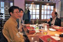 ロンドン開催で幹事の重責を果たされた堀内さん(40回)と小野さん(59回)