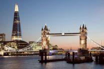 ロンドン(タワーブリッジとザ・シャード)