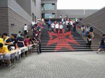 大階段、入場風景