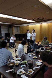 熊澤匠さん(高48回)による会員の紹介