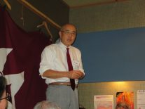 竹村事務局長に再度お越しいただきました