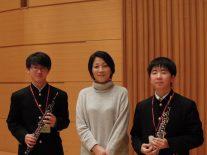 オーボエ奏者池田昭子さんから指導を受ける