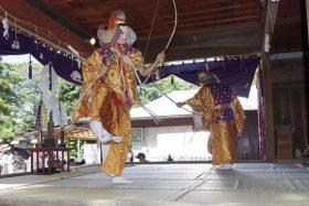 鷲宮神社の催馬楽神楽