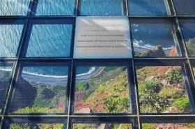 カボ・ジラン展望台(580メートル)はガラス張り