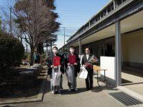 左から山口、小泉、芳野先生